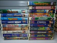 Huge Lot Of 20 Clamshell Disney Movie Classics See Photos