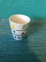SAN FRANCISCO ceramic shot glass souvenir