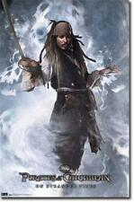 POSTER #1105 E CR 22 X 34 PIRATES OF THE CARIBBEAN 4 JACK SPARROW