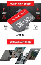Class 10 32GB Micro SD TF Flash Memory Card withAdapter for Camera Phone Tabs