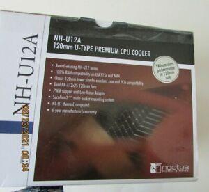 Noctua NH-U12A, Premium CPU Cooler with High-Performance Quiet NF-A12x25