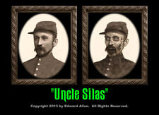 Uncle Silas 5x7 Haunted Memories Changing Portrait Halloween Lenticular Zombie
