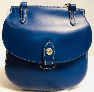 ~Dooney & Bourke*Cranberry *Blue*ALTO*HAPPY*Crossbody Bag& 18350Q S174