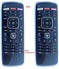 2Pcs Vizio XRT112 LED Smart Internet TV Remote with Amazon, Netflix & M-GO Keys
