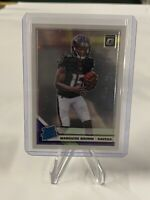 2019 Donruss Panini Optic Marquise Brown Rated Rookie Prizm Silver Ravens RC