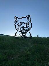 More details for west highland terrier metal garden art