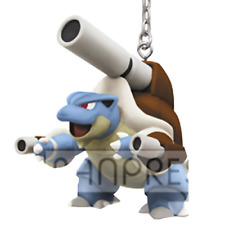"Pokemon Go Mega Blastoise 2.5"" Real Figure Key Chain Keyholder Ring XY UFO Anime"