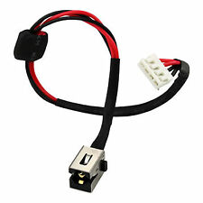 DC POWER JACK SOCKET PLUG IN CABLE FOR TOSHIBA SATELLITE A665-S6086 A665-S5170