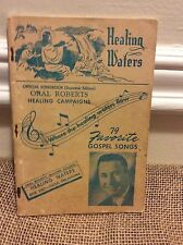 Healing Waters 79 Favorite Gospel Songs Oral Roberts 1948