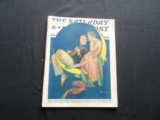 1930 JUNE 14 THE SATURDAY EVENING POST MAGAZINE - ILLUSTRATED COVER -SP 1380