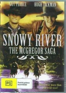 Snowy River The McGregor Saga DVD Hugh Jackman New and Sealed Australian Release