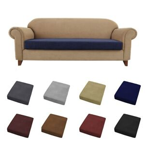 Sofa Seat Cover Elastic Couch Seat Cushion Slipcover Protctor 1/2/3/4 Seater