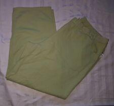 Ladies plus size 30 Light Green STRAIGHT Leg Elastic Waist Jeans BNWOT