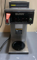 BUNN COFFEE MAKER BREWER CWTF-MV HOT WATER 3 WARMERS CW SERIES  CWTF-DV 240V
