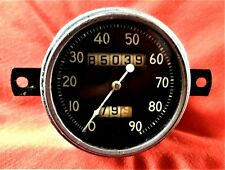 Vintage 1932 1933 1934 1935 Ford (or Other ) Speedometer 90 mph