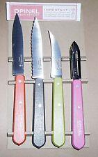 OPINEL Les Essentiels FIFTIES Set 4 coltelli cucina ART.001452 EAN 3123840014529