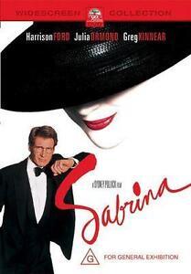 Sabrina DVD (2002, PAL) HARRISON FORD, FREE POST