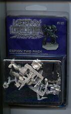 Heavy Gear Blitz NuCoal Espion two Pack MINT