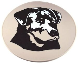 Beige Silicone Black Labrador Table Trivet Kitchen Hot Pad Table Placemat