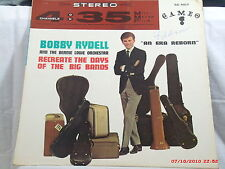 BOBBY RYDELL -(LP)-AND THE BERNIE LOWWE ORCHESTRA RECREATE DAYS OF THE BIG BANDS