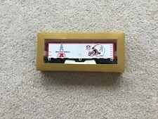 Mantua HO Scale 1991 Houston Oilers NFL Super Bowl Box Car