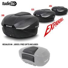 SHAD Bauletto o borsa posteriore per scooter o moto SH58X + FREE BACKREST