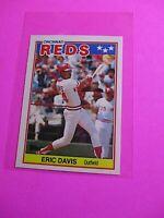 1988 Topps TIFFANY, UK American Baseball Mini,  MINT Eric Davis #18 Rare!
