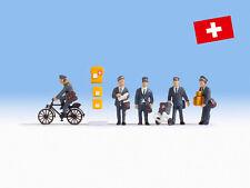 NOCH 15087 Swiss Postmen 00/H0 Model Railway Figures