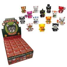 "Kidrobot Tricky Cats Vinyl 3"" Mini Figure Display Box - 20 Blind Figures"