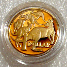AUSTRALIA: 2012 $1 PROOF MOB OF ROOS ENCAPSULATED