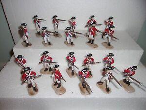 toy soldiers revolutionary war british lot 2