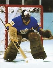 ROGIE VACHON VINTAGE GOALIE MASK NHL HOCKEY KINGS 8X10 PHOTO