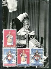 Pope John XXIII Coronation Glossy Photo Maxi Card with #250-3 (#1)