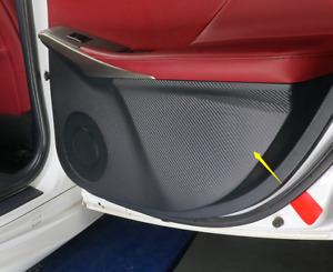 For LEXUS IS200t/300 13-19 Inner Door Carbon Fiber Anti-kick Protective Sticker