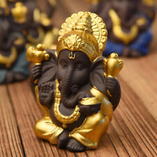 Collection Ganesh Statue Lord of Success Sculpture Hindu Ganesha Figurine C