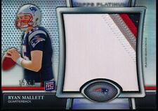 2011 Topps Platinum Ryan Mallett Rookie 4 Color Jumbo Patch #15/36 Patriots