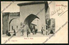 BOLOGNA CITTÀ 279 PORTA S. VITALE Cartolina VIAGGIATA 1903