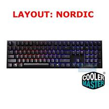 COOLER MASTER QUICK FIRE XTI MECHANICAL GAMING KEYBOARD,BROWN CHERRY MX SWITCHES