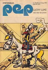 PEP 1972  nr. 31 - JOHNNY CASH / PETER VAN STRAATEN /TON BOOT/LUCKY LUKE (COVER)