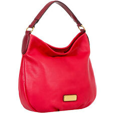 Marc by Marc Jacobs New Q Hillier Hobo Red Lther Handbag M0005340-602 MSRP $428