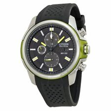 Men's Citizen CA0427-08E Eco-Drive AR 2.0 Two-Tone Green Chroma Stainless Watch