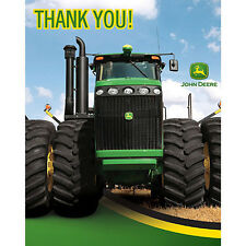 John Deere Tractor Thank you notes Birthday Party Supplies Farm Equipment