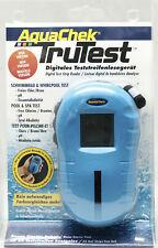 AquaChek Trutest inkl. 25 Teststreifen Digitales Testgerät Pooltester Wassertest