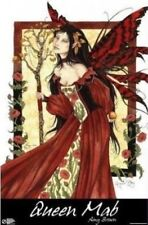 AMY BROWN ~ QUEEN MAB ~ 24x36 FAERY ART POSTER ~ NEW/ROLLED