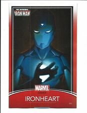 INVINCIBLE IRON MAN # 593 (TRADING CARD VARIANT COVER, DEC 2017), NM NEW
