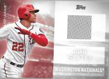 2020 Topps Series 2 Major League Material #MLM-JSO Juan Soto - Nationals