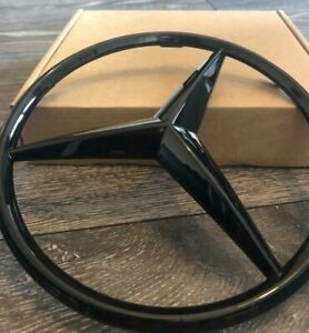 Mercedes Grille Gloss BLACK Star Badge CLIP ON A2078880260 Class W204 W245 W209