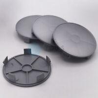 4 x Nabenkappen Nabendeckel Felgendeckel 68,0 - 65,0 mm - silber - NEU