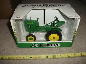"1/16 SpecCast John Deere ""L"" wide front tractor; nib"