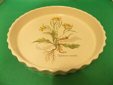 "Poole Pottery ""COUNTRY LANE"" FLAN/quiche dish"